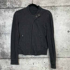 Lululemon // Dark Grey Sweater Jacket